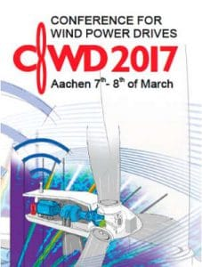 Conference for Wind Power Drives (CWD) 2017 @ Eurogress Aachen