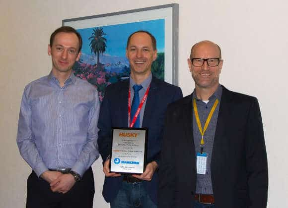 Hänchen erhält Supplier-Award von Husky Injection Molding Systems