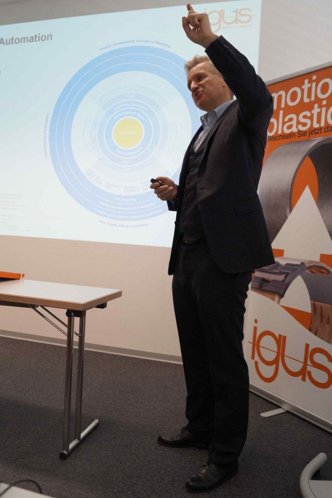 igus Frank Blase CEO Fachpresse Workshop