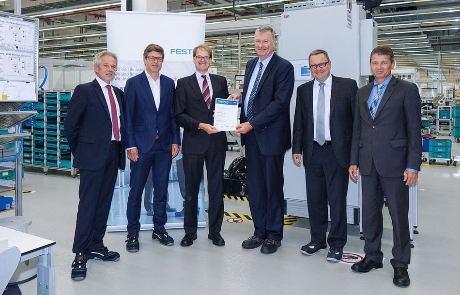 Festo zum dritten Mal Global Preferred Supplier der Bosch-Gruppe