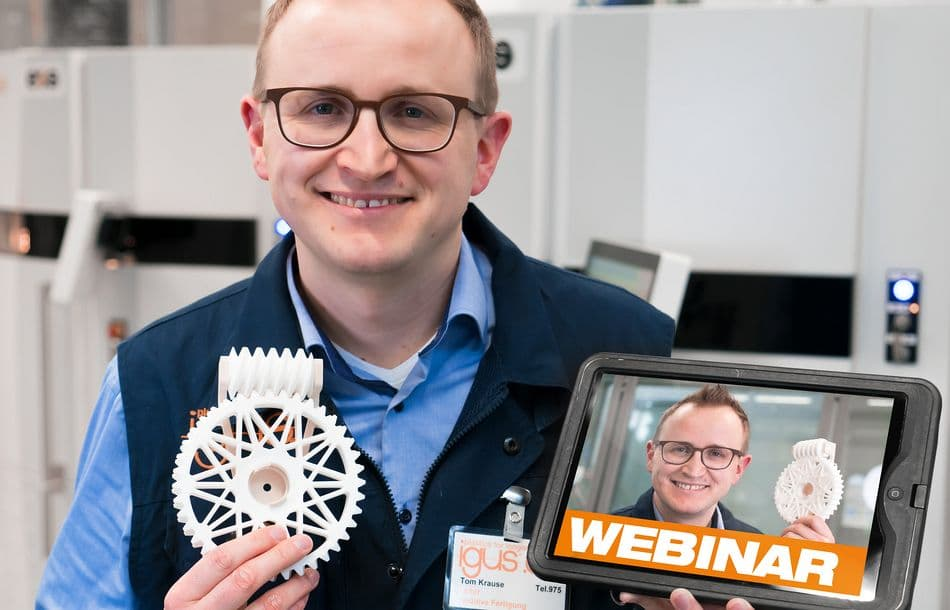 igus: Webinar Additive Fertigung