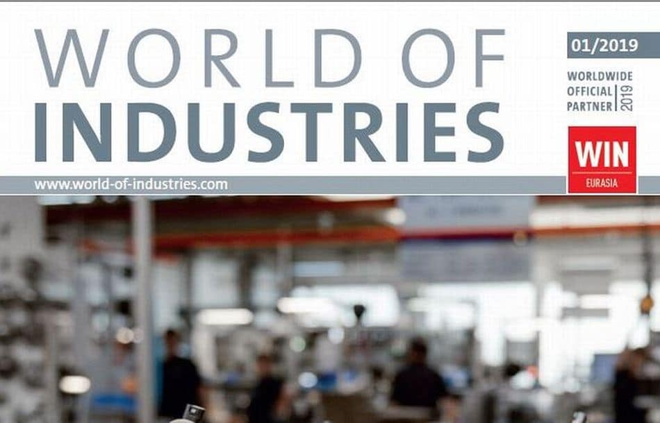 WORLD OF INDUSTRIES 1/2019 is now available!