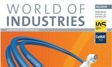 World Of Industries 4/2019 is now available for free!