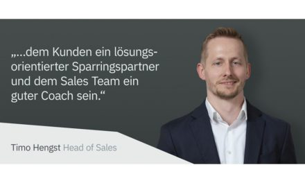 Timo Hengst Head of Sales bei Simcon
