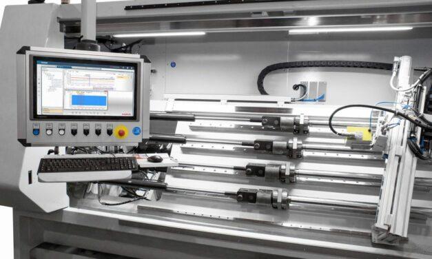 Automatisierter Hydraulikzylinderprüfstand