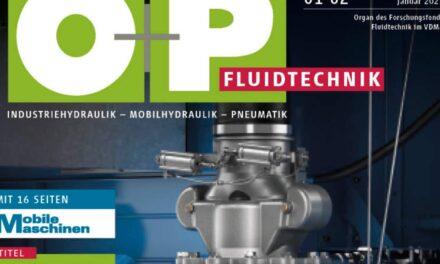 Mobile Maschinen und O+P Fluidtechnik gehen zusammen