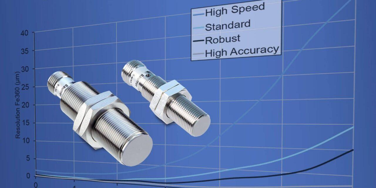 Induktive Sensoren mit Messwertfilterung